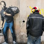 'Steve Jobs was the Son of a Syrian Migrant': Banksy Tackles Refugee Debate